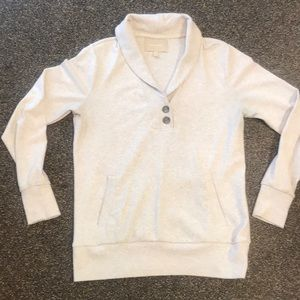 Banana Republic - Shawl Collar Sweatshirt